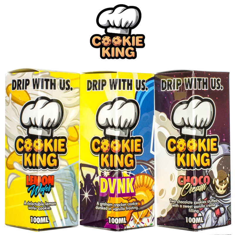 Cookie King 100ml Short Fill – £9.99