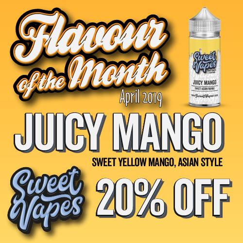 Juicy Mango100ml – £7.70