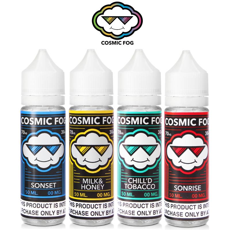 Cosmic Fog 50ml E-Liquid Shortfills – £9.99