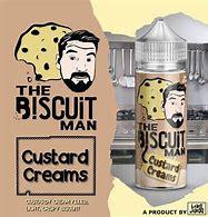 Custard creams 120ml Short fill – £8.88