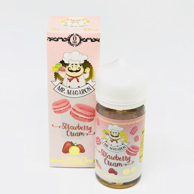 Strawberry Cream 100ml Short Fill – £9.99