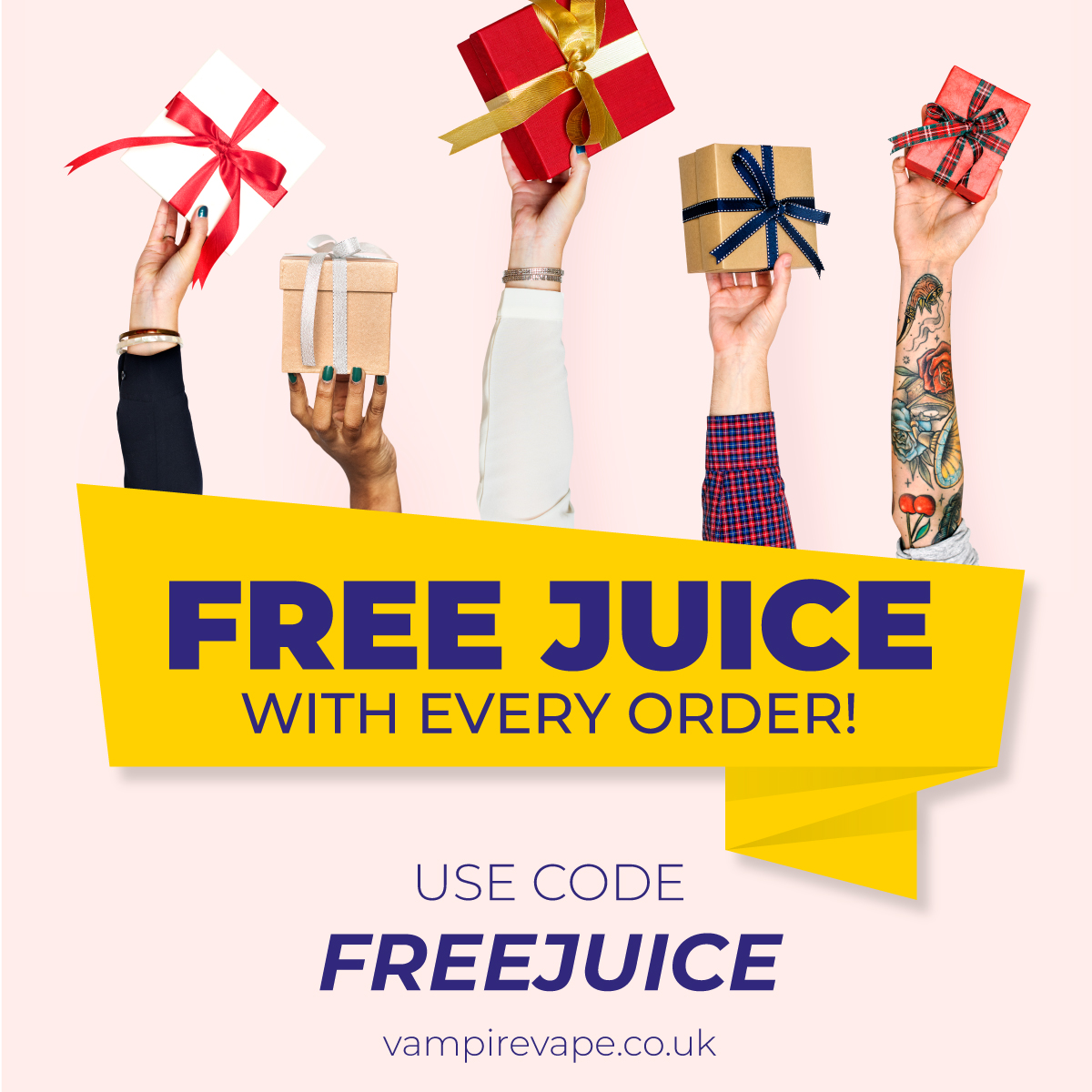 Free Juice With Every Order