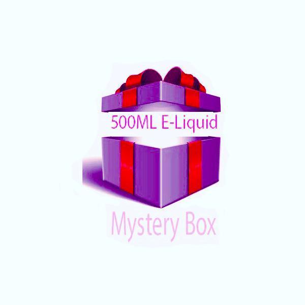 500ML E-Liquid Mystery Box – £29.60