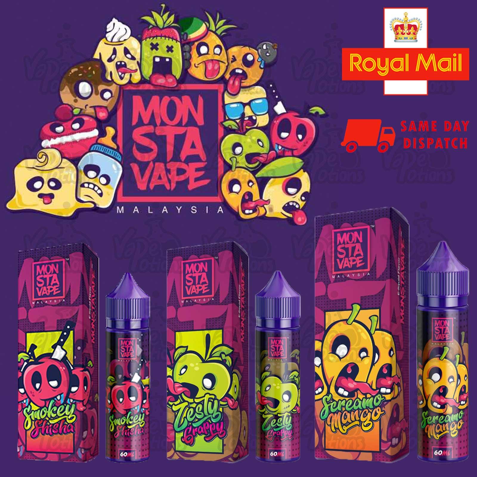 Monsta Vape E Liquid 60ml Shortfill – £7.43