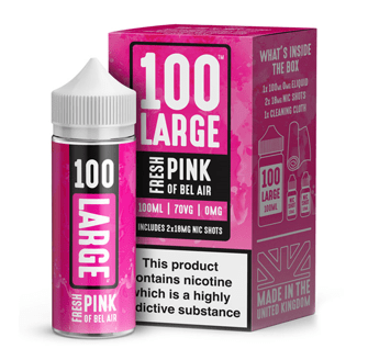 Fresh Pink 100ml Short Fill – £7.99