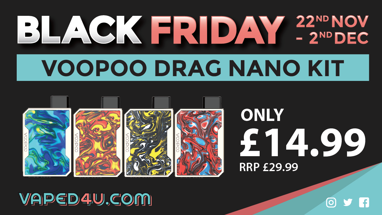 Black Friday – Voopoo Drag Nano Kit