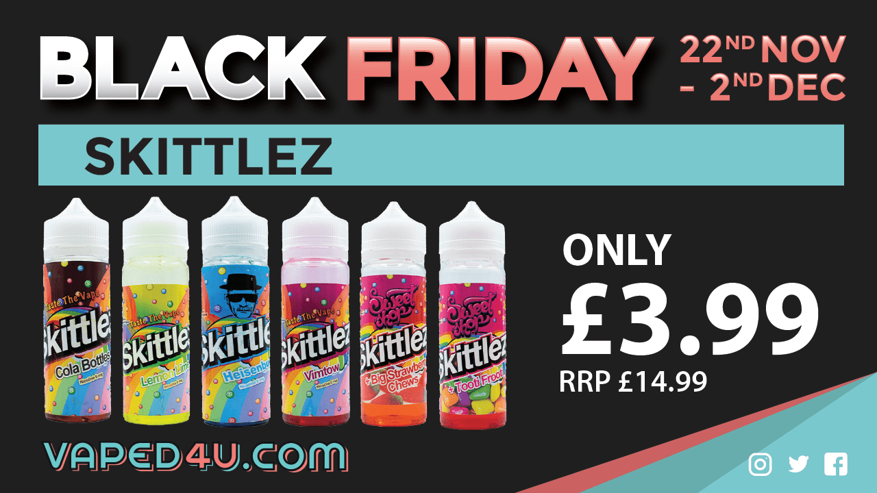 Skittlez – Vape the Rainbow! 100ml E-Liquid
