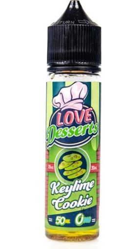 Key Lime Cookie 50ml Short Fill – £5.00
