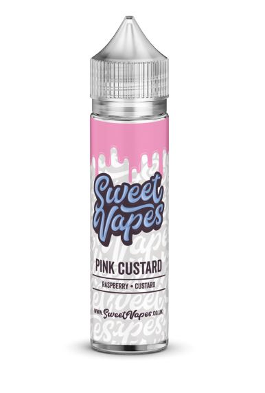 Pink Custard 50ml Short Fill – £2.50 by Sweet Vapes