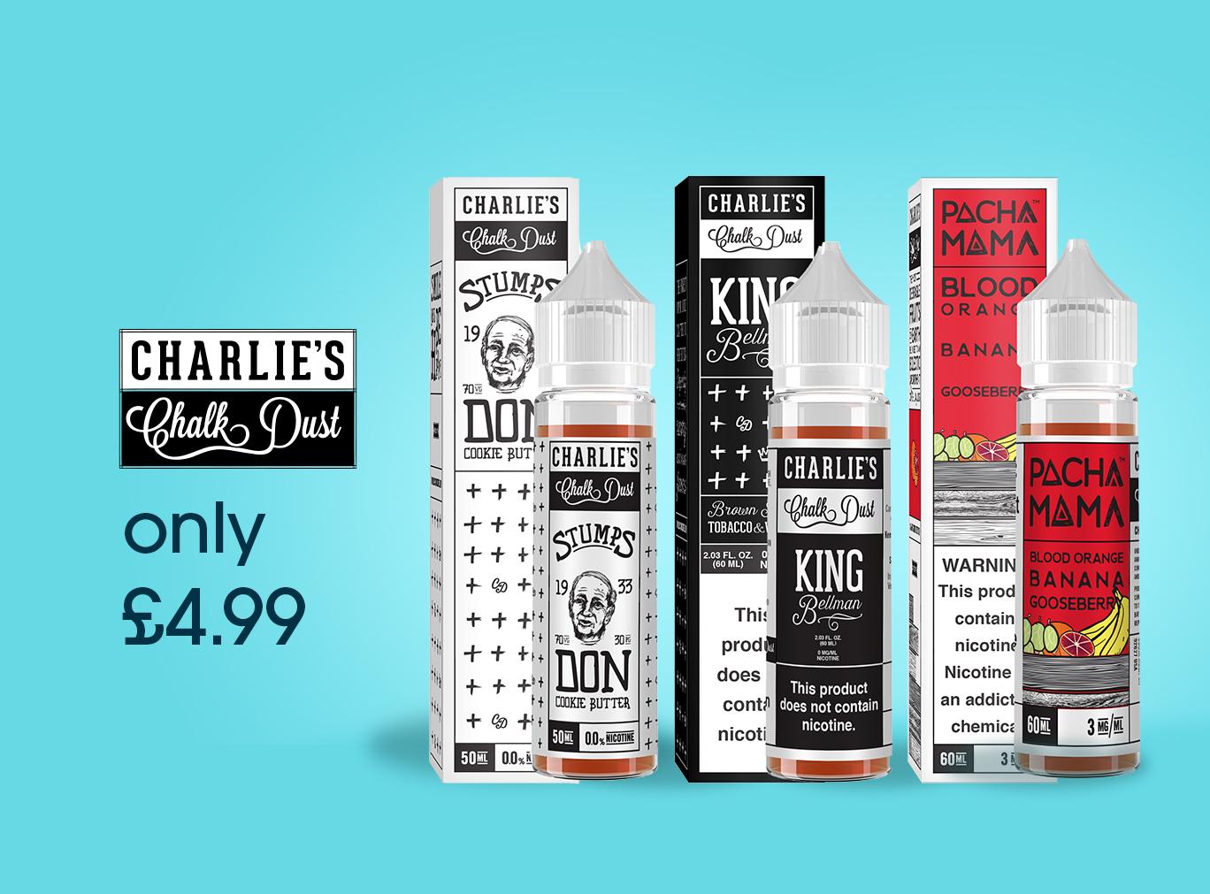 Charlies Chalk Dusk Clearance – £4.99
