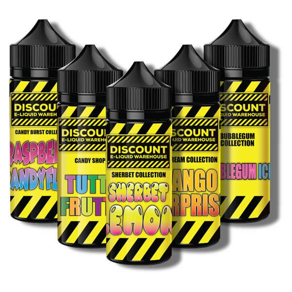Discount 100ml E-Liquid Short Fill – £8.00