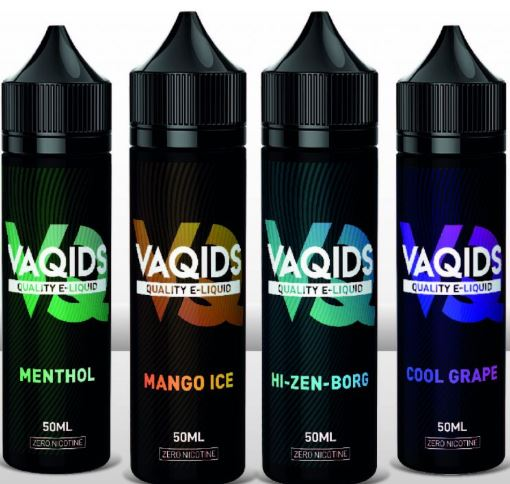 VaQids 50ml E-Liquid Shortfill – £1.99