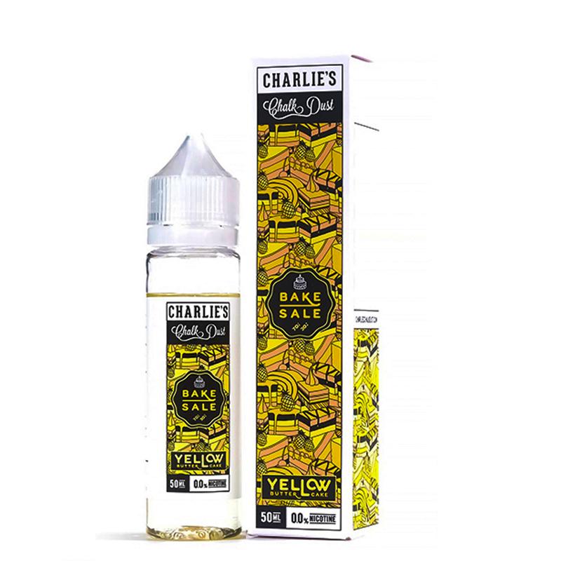Yellow Butter Cake 50ml E-Liquid Shortfill – £8.54