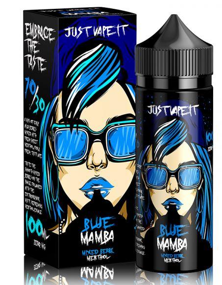 Blue Mamba 100ml E-Liquid Shortfill – £4.99