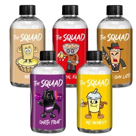 The Squad 200ml Shortfill – £8.99