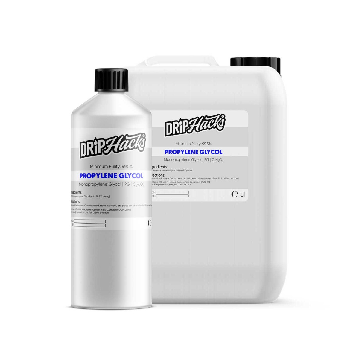 Drip Hacks 250ml Propylene Glycol – £3.96