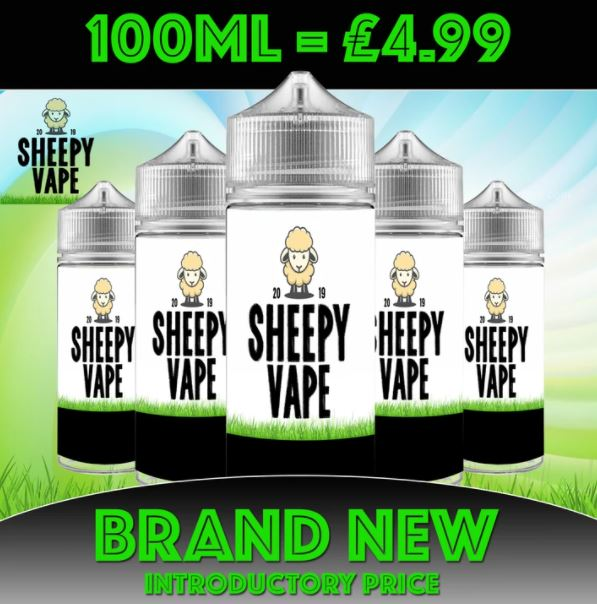 Sheepy Vape 100ml E-Liquid – £4.99