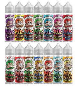 Mr Wicks E-Liquid 50ml Shortfill – £4.99