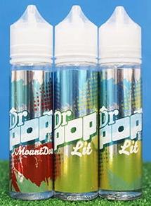 Dr Pop E-Liquids 50ml Shortfill – £3.25