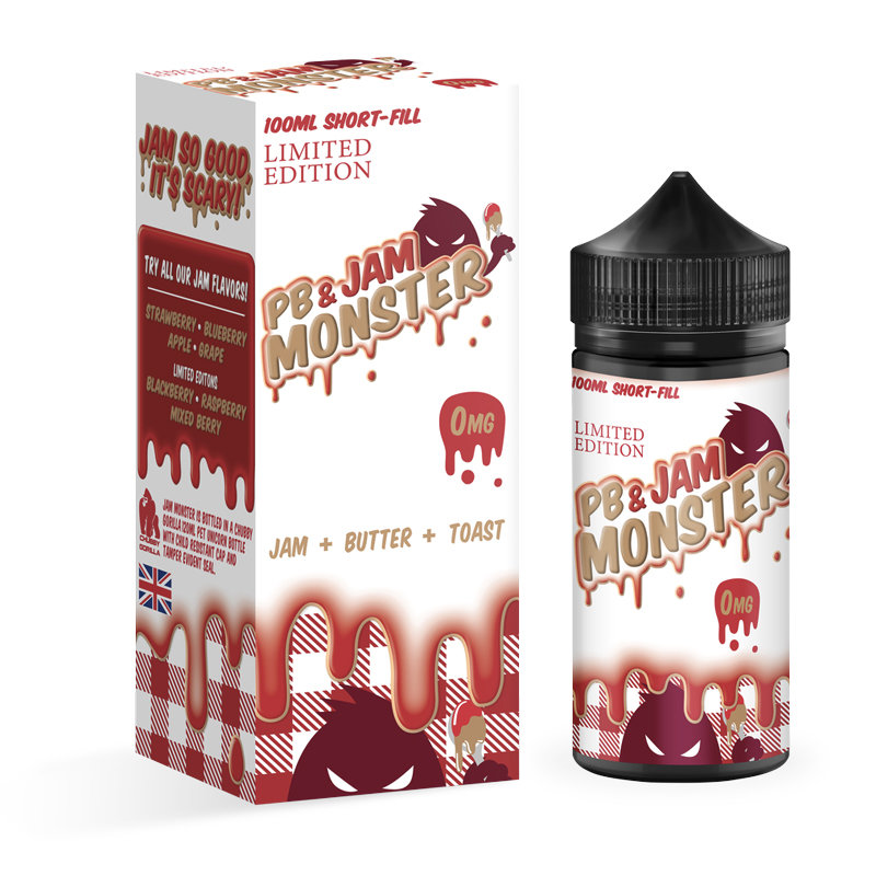 Jam Monster 100ml E-Liquid – £10.99