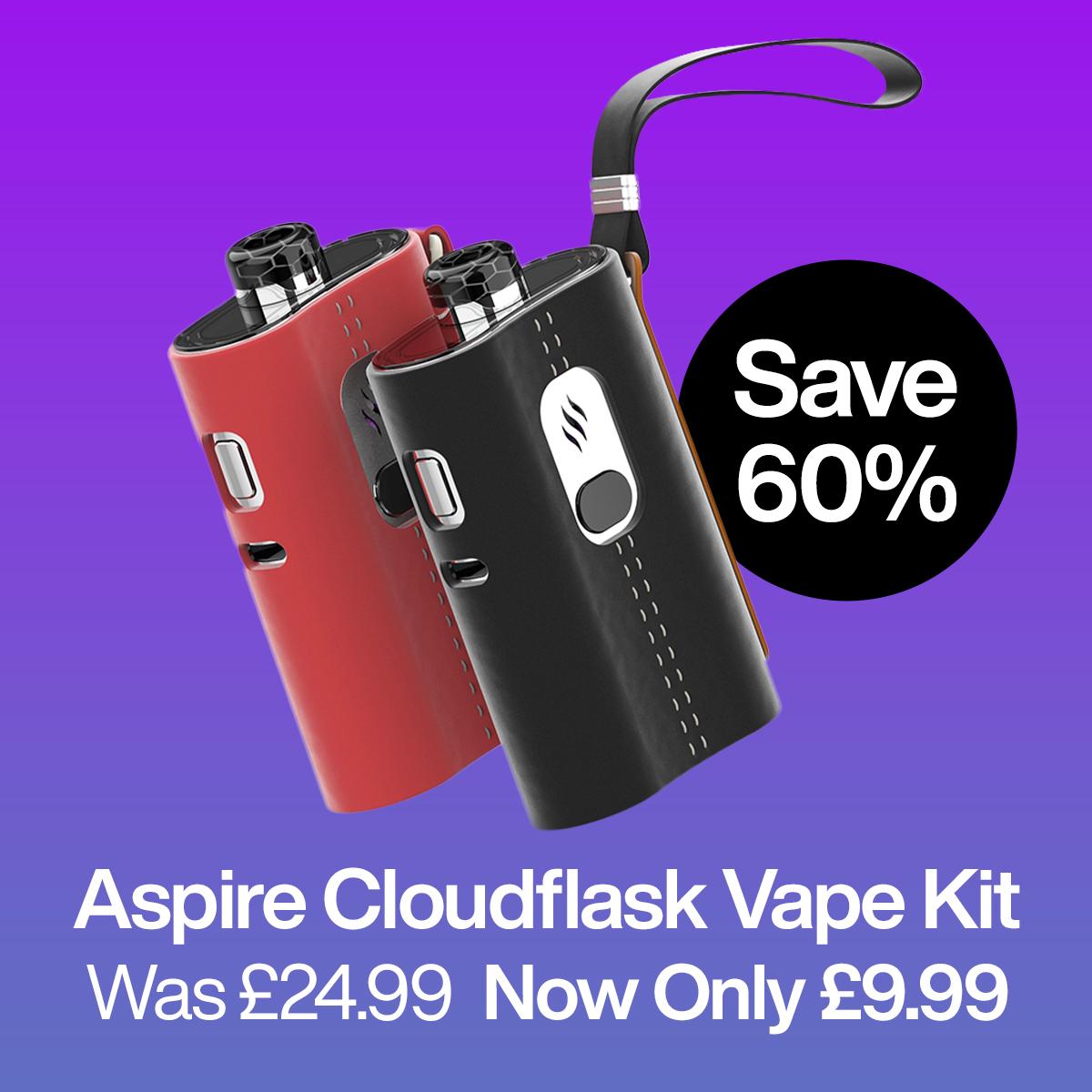 Aspire Cloudflask Pod Kit – £9.99