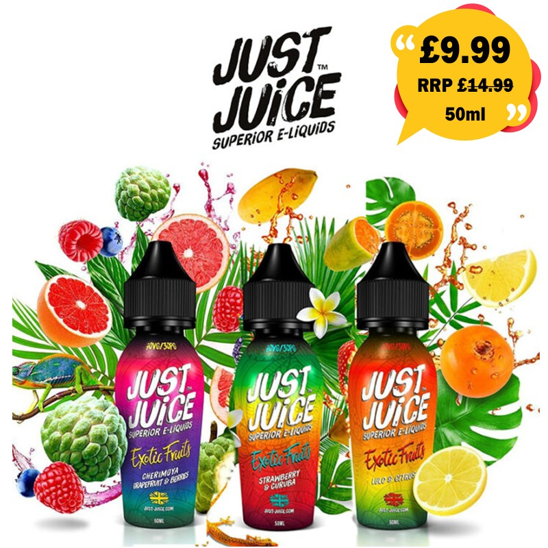 Just Juice exotic fruits 50ml – £9.49