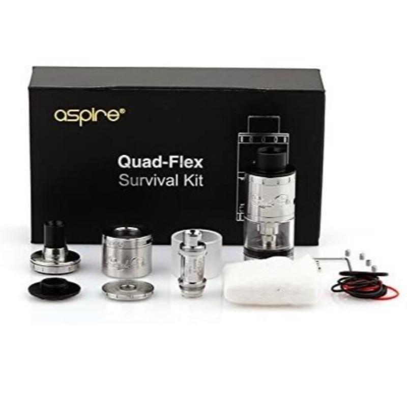 ASPIRE Quad Flex Survival Kit – £14.99