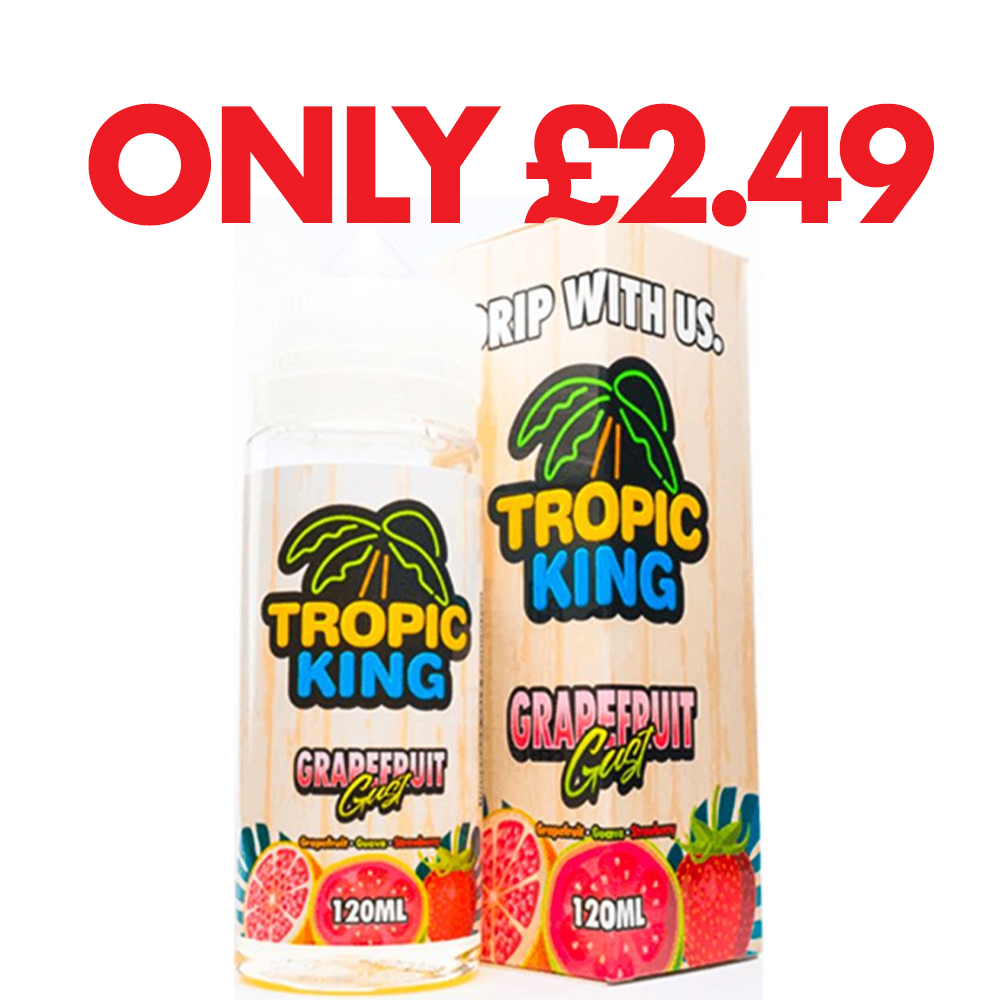 Tropic King 100ml Grapefruit Gust – £2.49