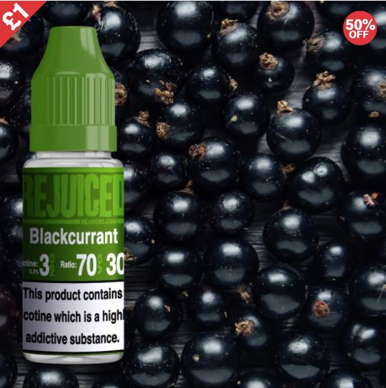Just Blackcurrant 10ml – £1.00