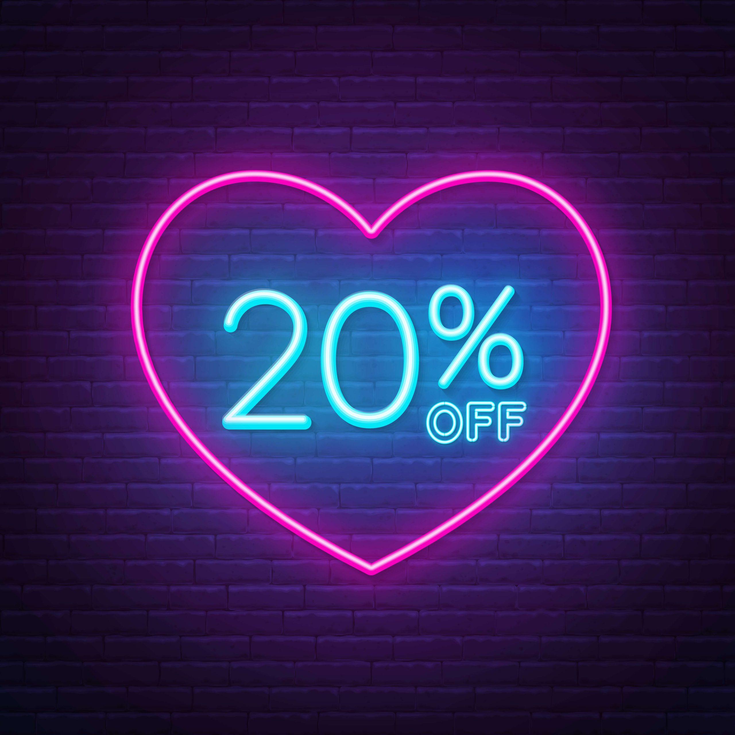 20% OFF E-Liquids