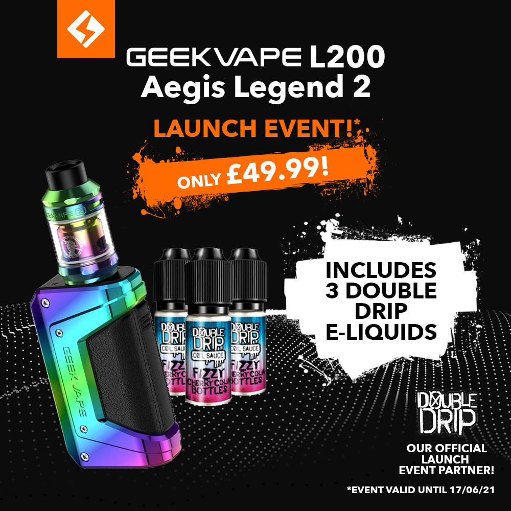 GeekVape L200 Aegis Legend 2 Kit – £49.99