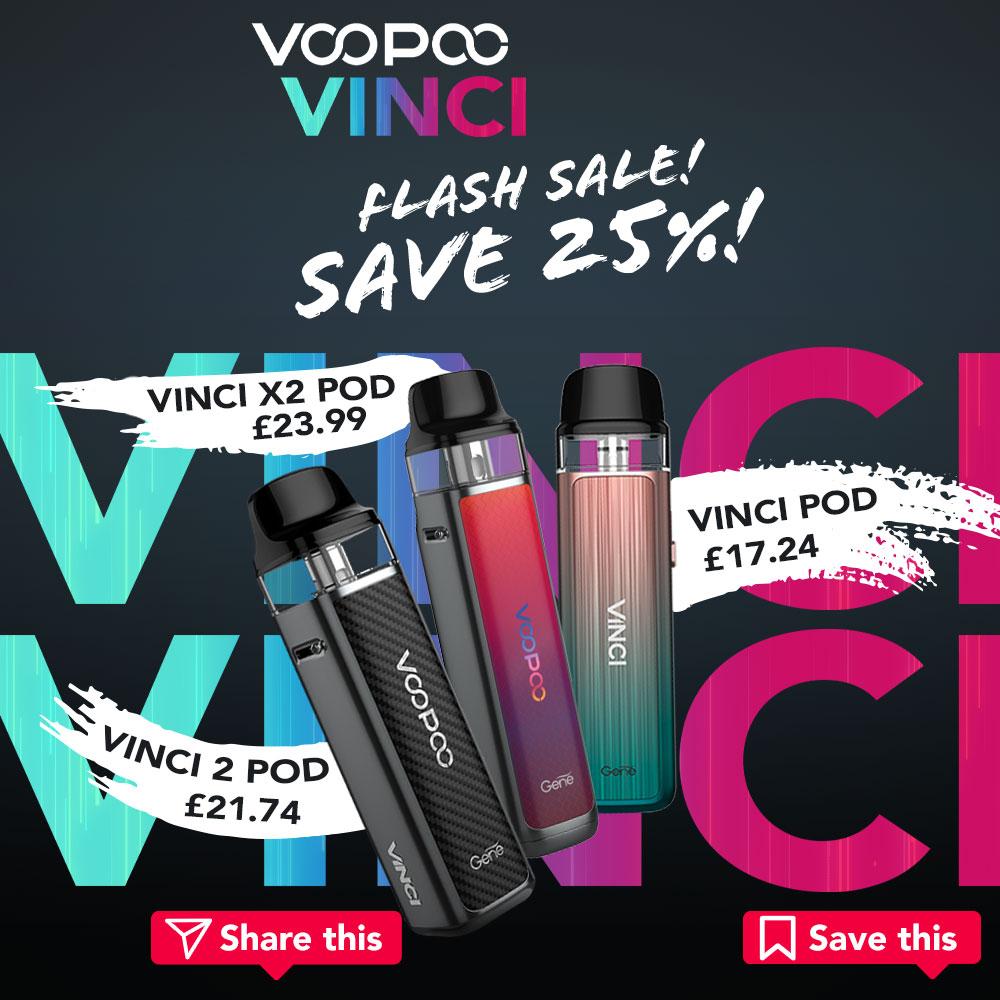 VOOPOO VINCI Pod Kit Save 25%