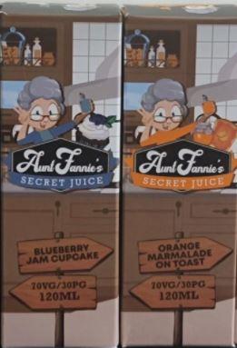 Aunt Fannie's Secret Juice 50ml E-Liquid – £3.99