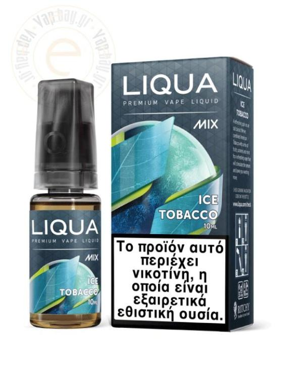 Liqua New Mix Ice Tobacco - Vapebay