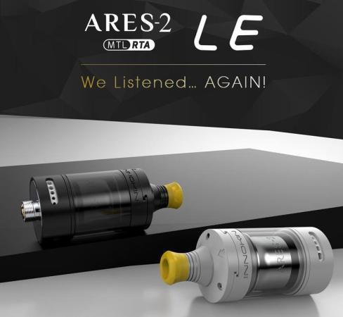Innokin Ares 2 RTA MTL Limited Edition D22 2ml Ατμοποιητής