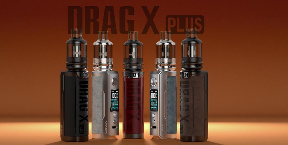 Voopoo Drag X Plus Kit   Δύναμη πέρα από κάθε φαντασία