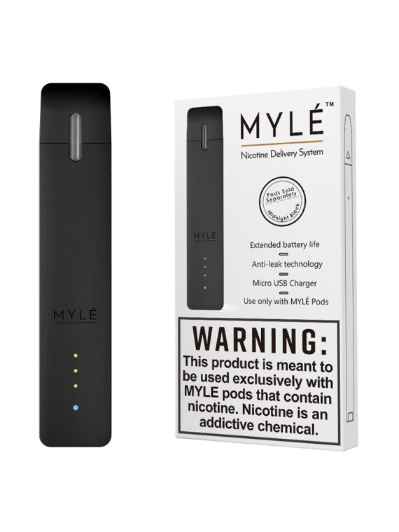 Midnight Black Vape Device by MYLÉ