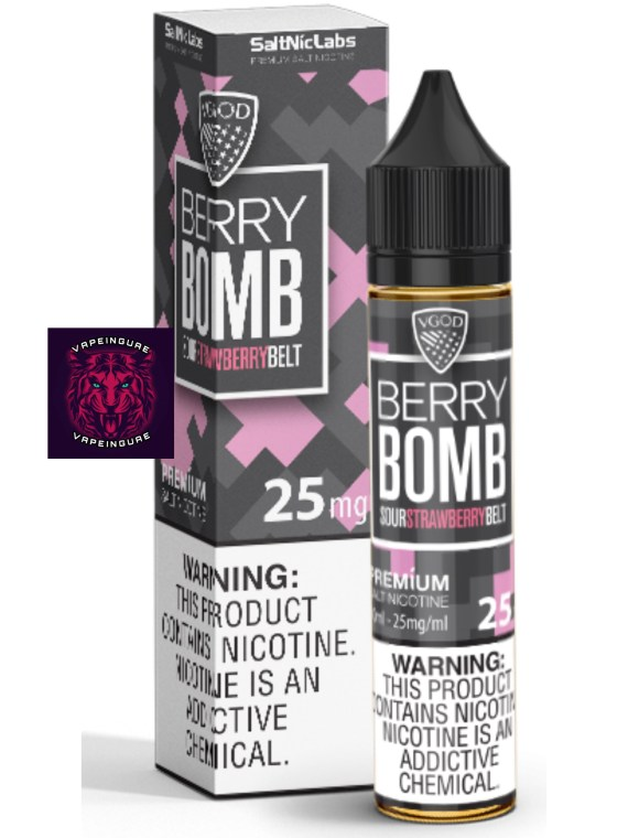 Berry Bomb By VGOD SaltNic Labs 30ml