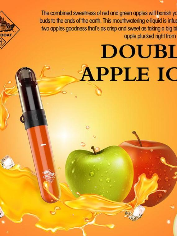 Double Apple Ice - Tugboat v4(CASL) 3pcs/pack