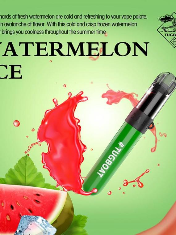 Watermelon Ice - Tugboat v4(CASL) 3pcs/pack