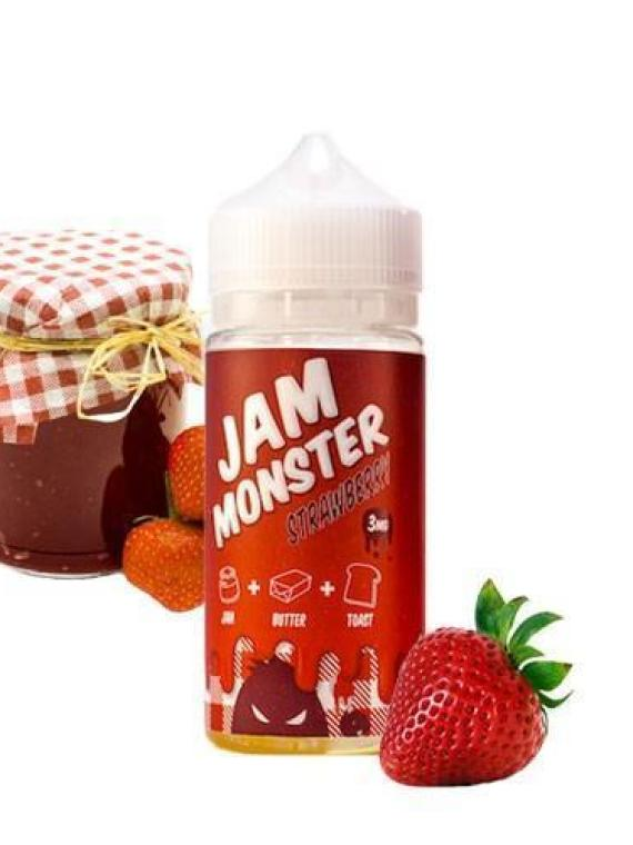 Jam Monster Strawberry – 100ml