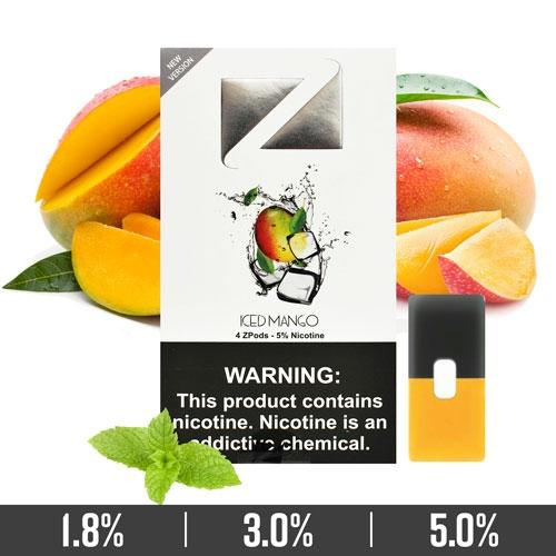 Iced Mango Ziip Pods for Juul Devices