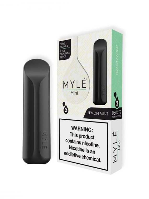 MYLÉ Mini Lemon Mint Disposable Pod