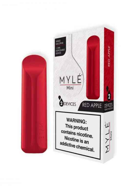 MYLE Mini Red Apple Disposable pods