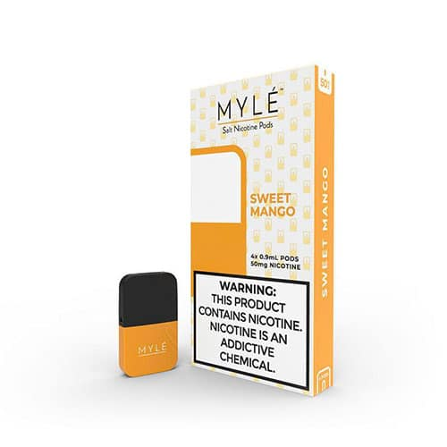Buy Sweet Mango Vape Pods by MYLÉ in Dubai VapeDubaiCity