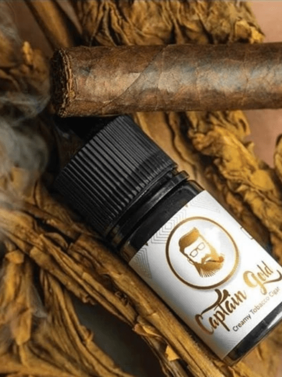 Captain Gold Creamy Tobacco Cigar Salt