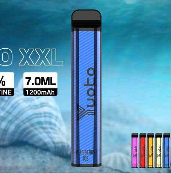 YUOTO XXL DISPOSABLE VAPE PODS 2500 Puffs 1200MAH