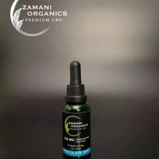 Zamani Organics - Tintura Sublingual - Chocolate Mint - 30ml