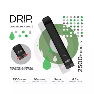 Disposable Drip- 5% Nicotine 6.5ml (2500 puffs)