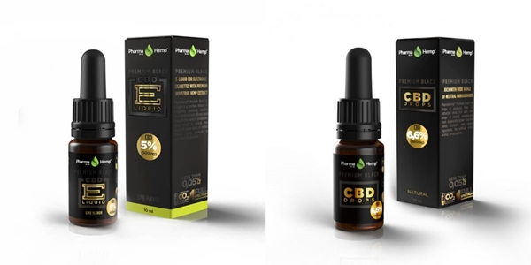 PharmaHemp PREMIUM BLACK